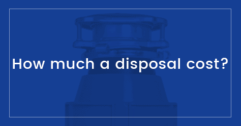 How much is a garbage disposal?