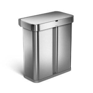 Simplehuman voice trash can