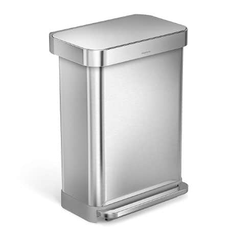 best stainless steel trashcan
