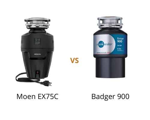 Moen ex75c vs Badger 900 – Which is a better garbage disposal?
