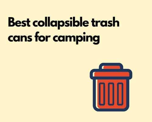 Best collapsible trash cans
